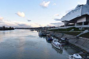 Visite en bateau sur Lyon