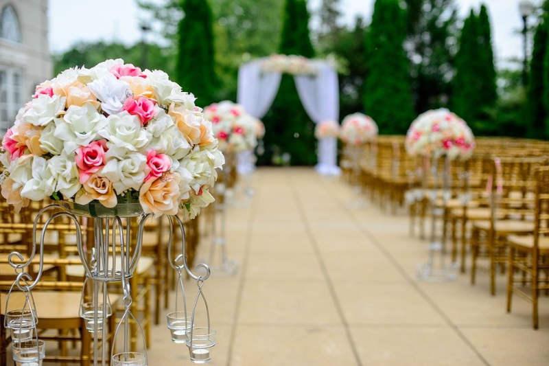 mariage chateau reception